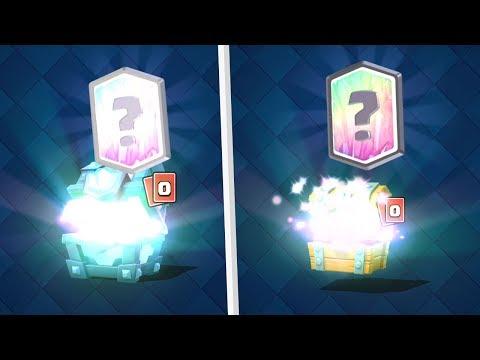 Clash Royale ENORME PACK OPENING UNE CHANCE INCROYABLE ! COFFRE SUPER MAGIQUE LEGENDAIRE