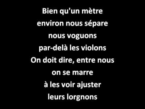 Vous Permettez Monsieur - Vidéo Avec Paroles / Lyrics -  Salvatore Adamo