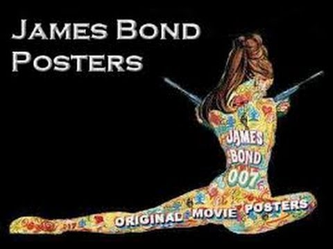 James Bond Movie Poster Special
