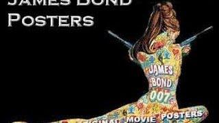 James Bond Movie Poster Special