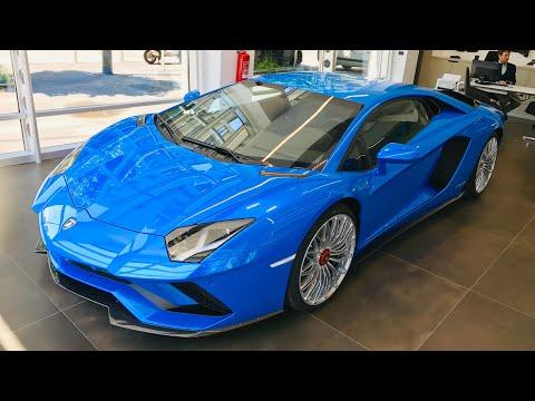 Lamborghini Aventador Sky Blue