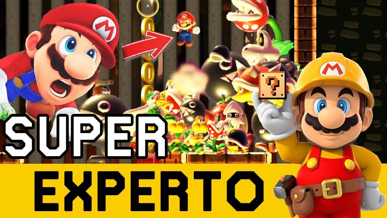 PERO QUE ESTÁ PASANDO AQUÍ??!! - SUPER EXPERTO NO SKIP | Super Mario Maker - ZetaSSJ