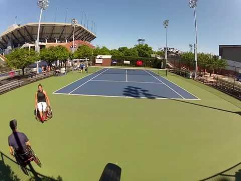 Karolina Lingyte vs. Dana Matthewson New York, NY Billie Jean Tennis Center 2014