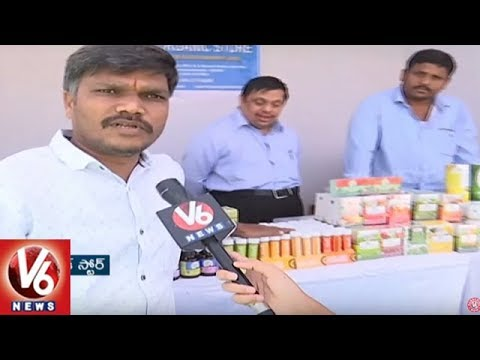 National Natural Food Festival Begins At People's Plaza | Hyderabad | V6 News