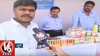 National Natural Food Festival Begins At People's Plaza | Hyderabad | V6 News