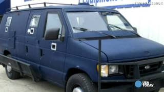 Armored van in attack on Dallas police bought on eBay