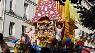 Lord Jagannath cart festival Paris 2018