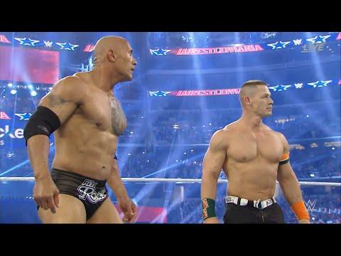 WRESTLEMANIA 32 THE ROCK AND JOHN CENA vs THE WYATTS & ERICK ROWAN FULL  MATCH REVIEW