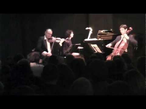 Edward Elgar Salut d'Amour Piano Trio Unique Live in Concert