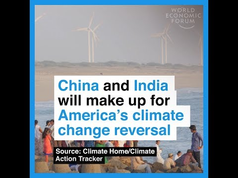 China and India will make up for America's climate change reversal