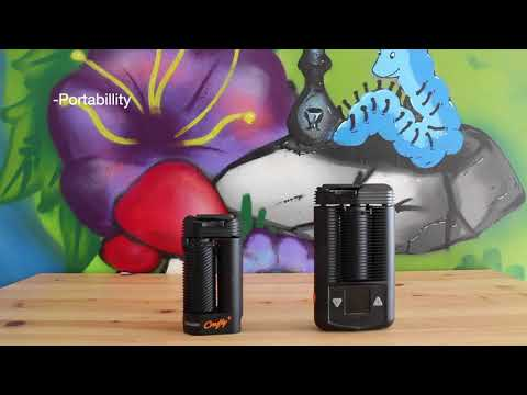 Storz & Bickel Crafty Plus vs Mighty Vaporizer Comparison