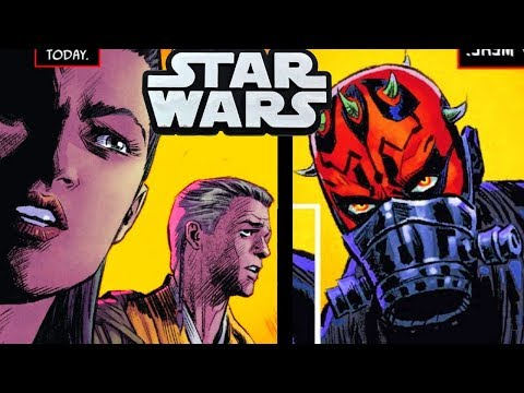 TWO JEDI That Discovered Darth Maul Before Phantom Menace!(CANON) - Star Wars Comics Explained