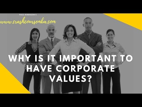 The importance of having core values for your business