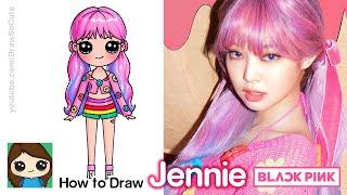 How to Draw Jennie 🍦BlackPink Ice Cream