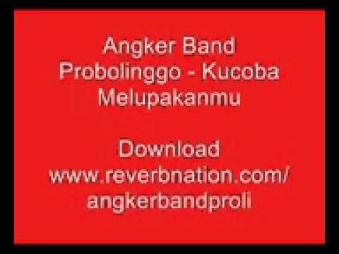 Angker Band  - Kucoba Melupakanmu Lirik
