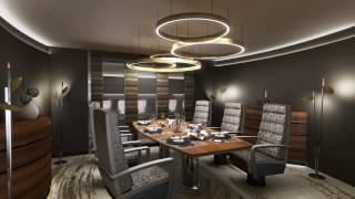 BBJ 777-300ER VIP interior