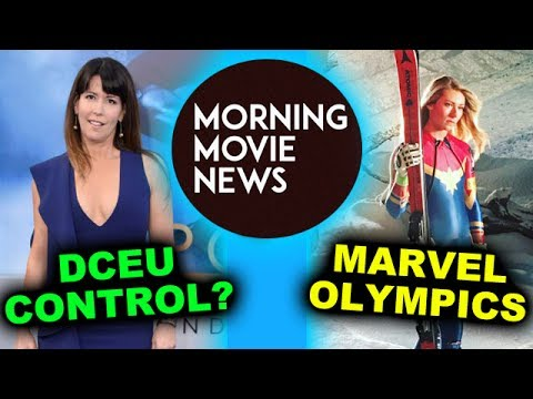 Patty Jenkins & Wonder Woman Sequel, plus DCEU Control? Captain Marvel US Ski Team