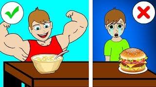 ELSA's Mega People Proper Nutrition Finger Family Song Nursery Rhymes