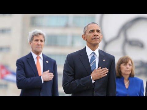 Obama in Cuba informed of Brussels terror bombings