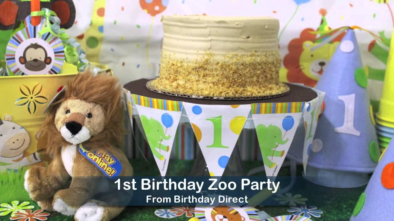 1st Birthday Boy Party Ideas YouTube