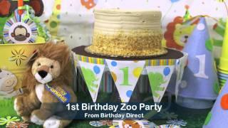 1st Birthday Boy Party Ideas