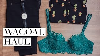 Wacoal India | Luxury Lingerie Haul // Magali Vaz