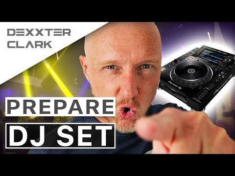 How To Prepare DJ Set (beginner Tutorial)