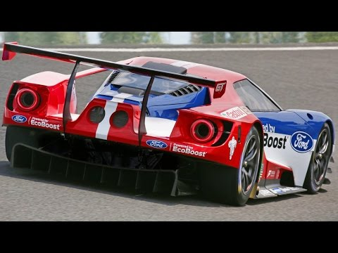 2016 Ford GT Le Mans Racecar Review Rendered Price Specs Release ...