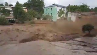 Сель в городе Пенджикенте, Таджикистан(Сель в городе Пенджикенте, Таджикистан, 9 мая 2016 года. Съемка (c) ASIA-Plus Media Group., 2016-05-12T07:49:37.000Z)