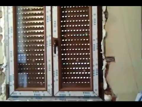 cambio de ventanas viejas de madera por unas de pvcmp4  YouTube