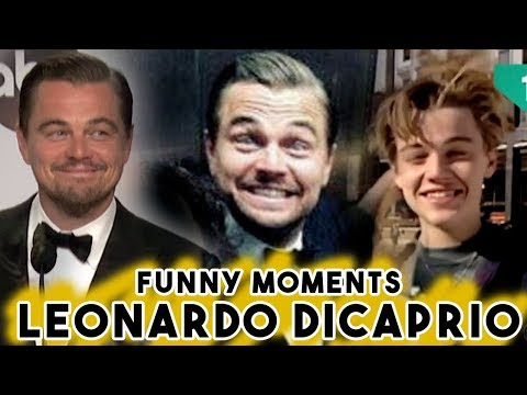 Leonardo Dicaprio Funny Moments  Part 2