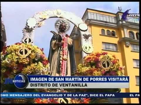 231115 Imagen de San Martín de Porres visitará el distrito de Ventanilla