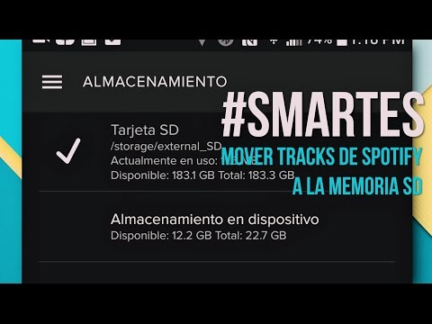 Guarda tu música offline de Spotify a la memoria SD #SMARTES