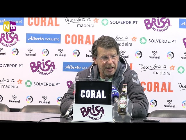 Manuel Machado na antevisão ao jogo com Moreirense: