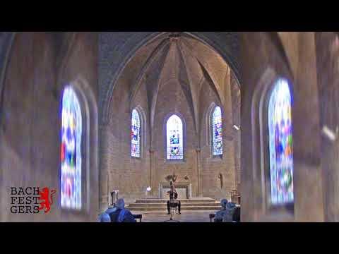 BACH FESTIVAL GERS : Violoncelliste tchèque Anna BRIKCIUSOVÁ à Beaumarchés ( Allemande, BWV 1007 )