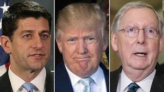 Trump attacks GOP leaders on Twitter