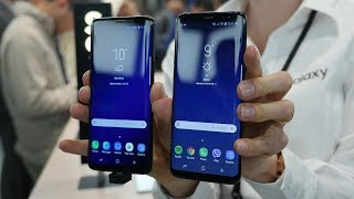 Samsung Galaxy S9 vs Galaxy S8: first look comparison