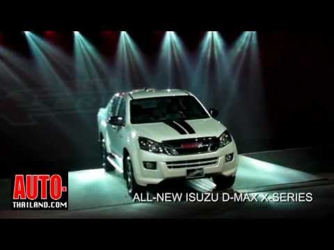 All New D-Max X-series 2012
