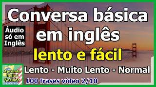 Baixar 100 Frases em Inglês (Básicas com tradução) Áudio só em Inglês video #2
