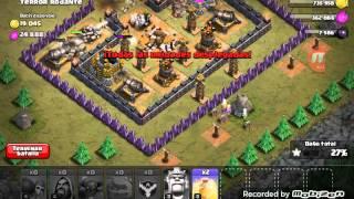 Clash of clans atake mierda