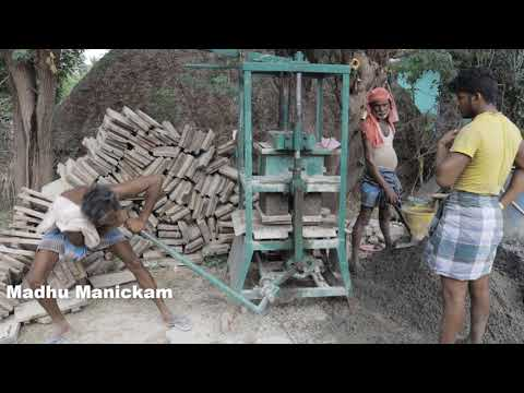 Manual Operated Block Making Machine Building Contraction Video