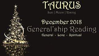 TAURUS | Fearing Change Is NOT an Option! Dec 2018 Love, Spiritual, & General Tarot Reading