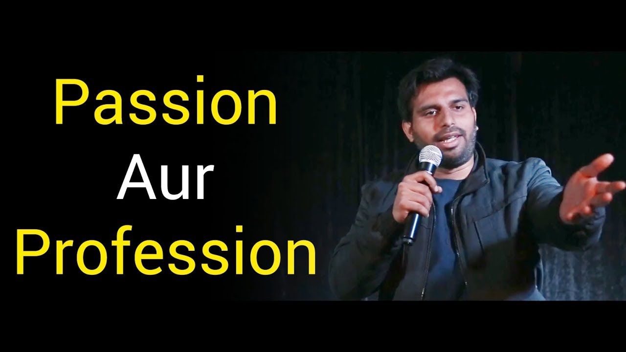 Amazing Indian Stand Up Comedy by Arpan Khosla |  Stand Up Comedy on Career