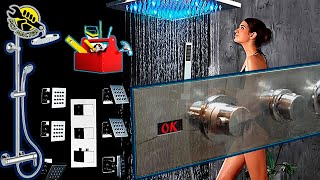 Душевая панель -ремонт, реставрация. Смеситель, кран, стойка  - вызов мастера сантехника Москва.
