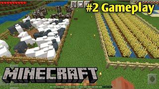 I START FARMING IΝ MINECRAFT | MINECRAFT GAMEPLAY #2
