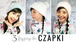 3 fryzury pasujące do czapki na zimę