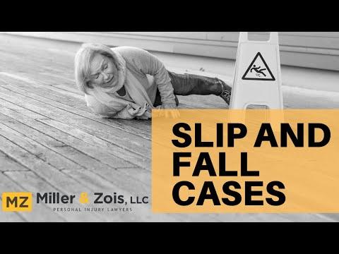 Maryland Slip and Fall Injury Claims