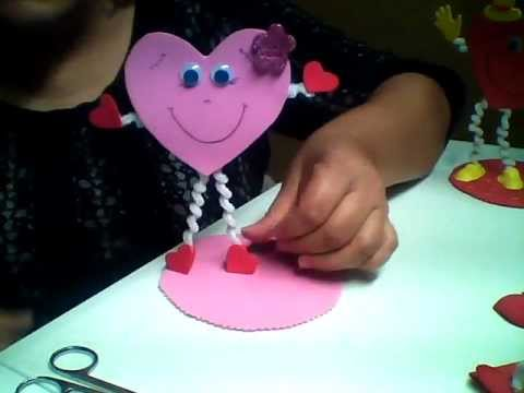 39 39 fantastideas 39 39 corazon porta lipicero para san valentin - Como hacer adornos de san valentin ...