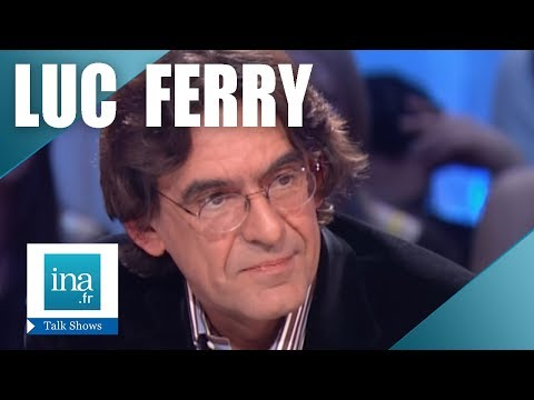 Interview actualité Luc Ferry - Archive INA