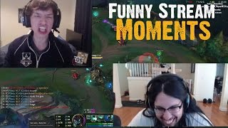 Imaqtpie VS LL Stylish | Imaqtpie's MOM | METEOS BIG RAGE AGAINST REDDIT AND VOY |LoL Stream Moments
